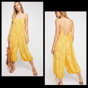 Free People Intimately Embroidered Jumper Romper